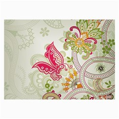 Floral Pattern Background Collage Prints