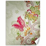 Floral Pattern Background Canvas 12  x 16   16 x12 Canvas - 1