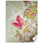 Floral Pattern Background Canvas 36  x 48   48 x36 Canvas - 1