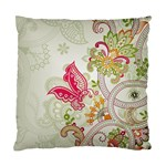 Floral Pattern Background Standard Cushion Case (One Side) Front