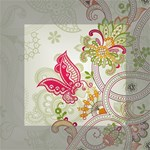 Floral Pattern Background Mini Canvas 4  x 4  4  x 4  x 0.875  Stretched Canvas
