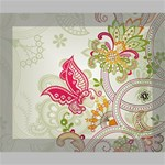 Floral Pattern Background Canvas 10  x 8  10  x 8  x 0.875  Stretched Canvas