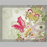 Floral Pattern Background Canvas 16  x 12  16  x 12  x 0.875  Stretched Canvas