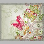 Floral Pattern Background Canvas 24  x 20  24  x 20  x 0.875  Stretched Canvas