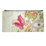 Floral Pattern Background Pencil Cases Front