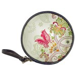 Floral Pattern Background Classic 20-CD Wallets Front
