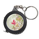 Floral Pattern Background Measuring Tapes Front
