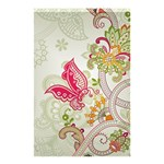 Floral Pattern Background Shower Curtain 48  x 72  (Small)  42.18 x64.8 Curtain