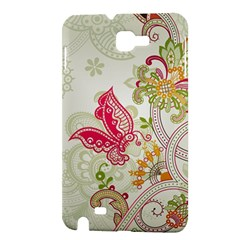 Floral Pattern Background Samsung Galaxy Note 1 Hardshell Case