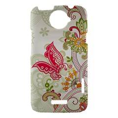 Floral Pattern Background HTC One X Hardshell Case