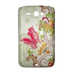 Floral Pattern Background HTC ChaCha / HTC Status Hardshell Case