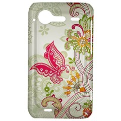 Floral Pattern Background HTC Incredible S Hardshell Case
