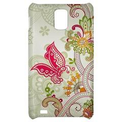 Floral Pattern Background Samsung Infuse 4G Hardshell Case