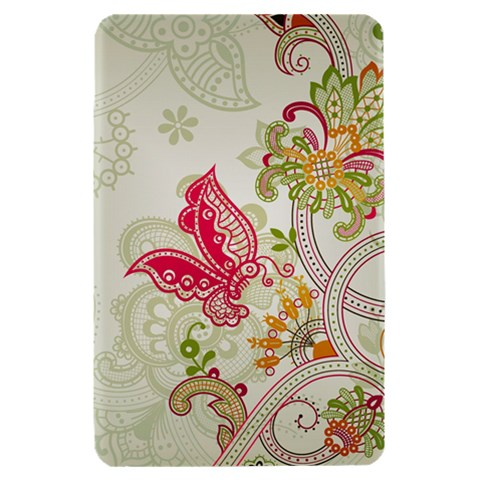 Floral Pattern Background Kindle Fire (1st Gen) Hardshell Case