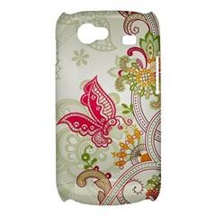 Floral Pattern Background Samsung Galaxy Nexus S i9020 Hardshell Case