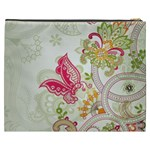 Floral Pattern Background Cosmetic Bag (XXXL)  Back