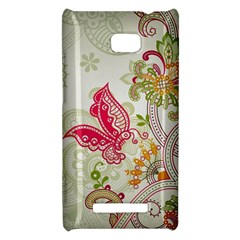 Floral Pattern Background HTC 8X