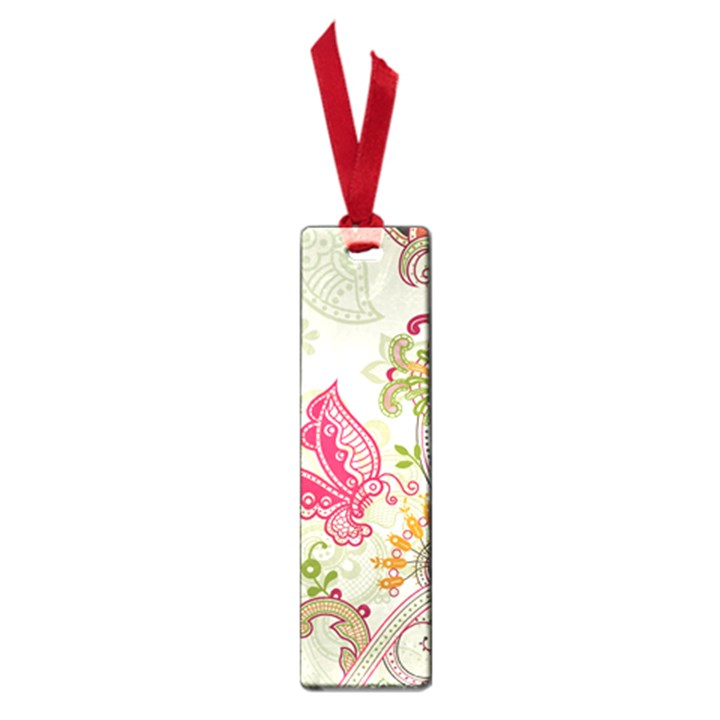 Floral Pattern Background Small Book Marks