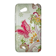 Floral Pattern Background HTC Desire VC (T328D) Hardshell Case