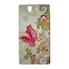 Floral Pattern Background Sony Xperia Z