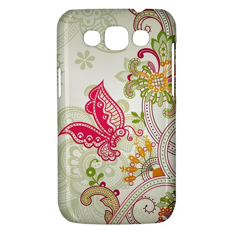 Floral Pattern Background Samsung Galaxy Win I8550 Hardshell Case