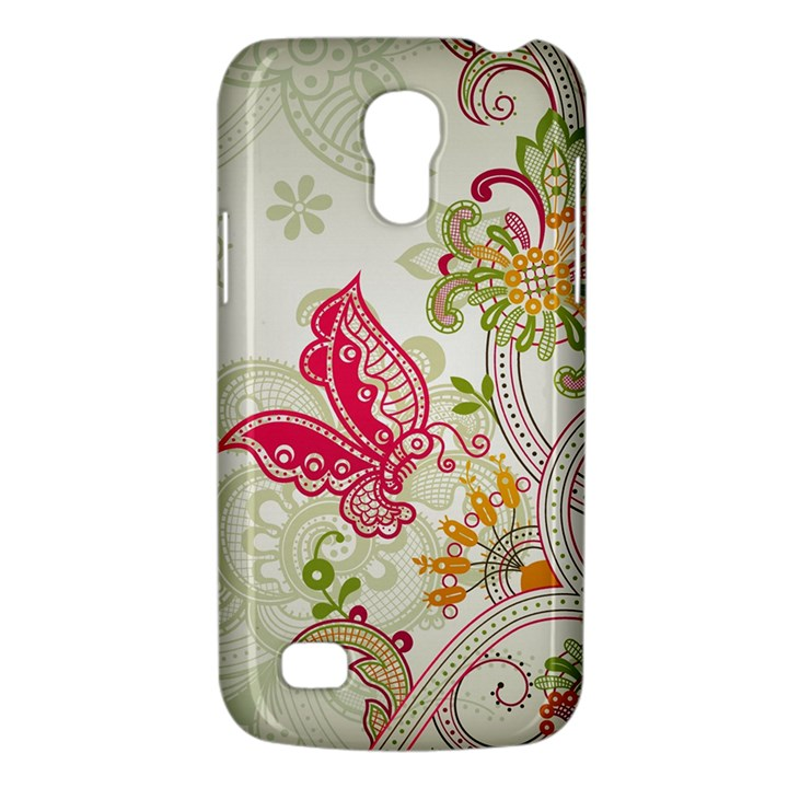 Floral Pattern Background Galaxy S4 Mini