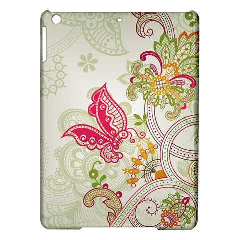 Floral Pattern Background iPad Air Hardshell Cases