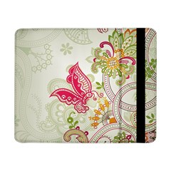 Floral Pattern Background Samsung Galaxy Tab Pro 8.4  Flip Case