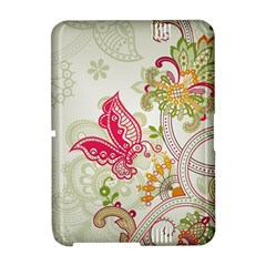 Floral Pattern Background Amazon Kindle Fire (2012) Hardshell Case