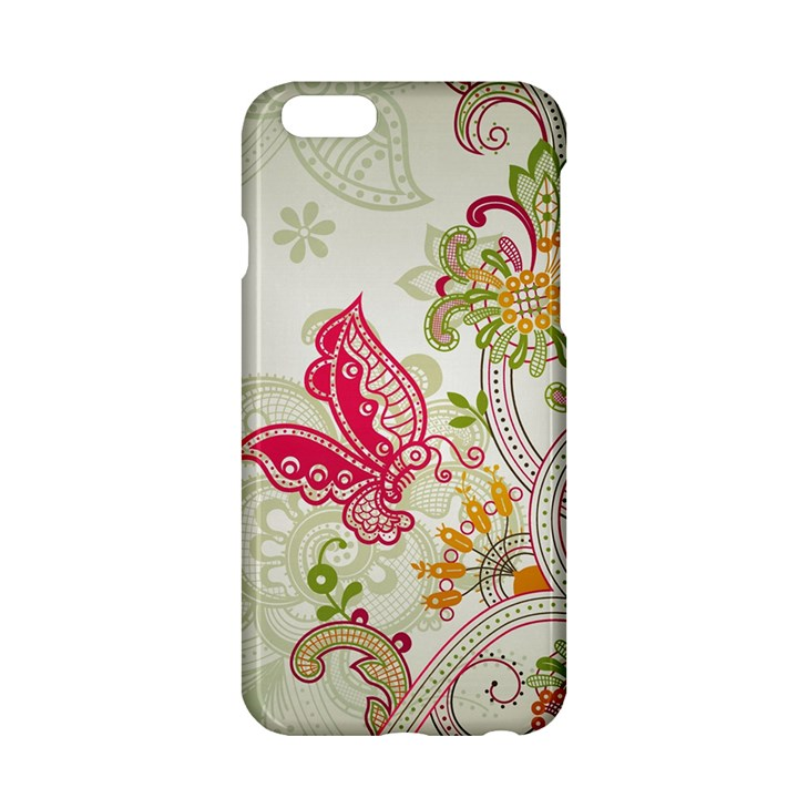 Floral Pattern Background Apple iPhone 6/6S Hardshell Case