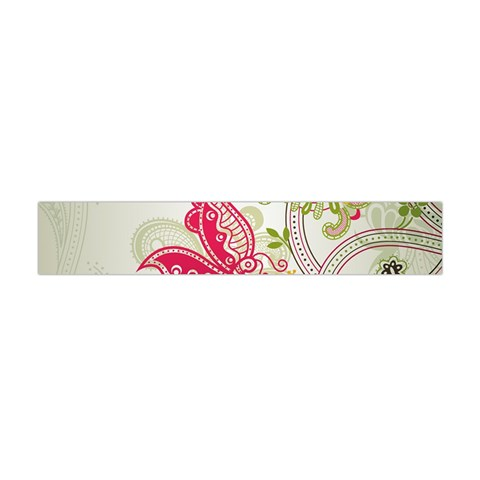 Floral Pattern Background Flano Scarf (Mini)