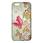 Floral Pattern Background iPhone 6/6S TPU Case Front