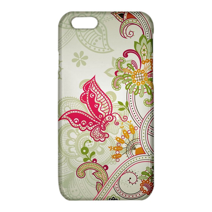 Floral Pattern Background iPhone 6/6S TPU Case