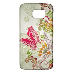 Floral Pattern Background Galaxy S6
