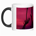 Vultures At Top Of Tree Silhouette Illustration Morph Mugs Left