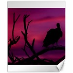 Vultures At Top Of Tree Silhouette Illustration Canvas 16  x 20   20 x16 Canvas - 1