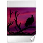 Vultures At Top Of Tree Silhouette Illustration Canvas 20  x 30   30 x20 Canvas - 1