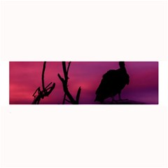 Vultures At Top Of Tree Silhouette Illustration Large Bar Mats