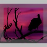 Vultures At Top Of Tree Silhouette Illustration Canvas 10  x 8  10  x 8  x 0.875  Stretched Canvas