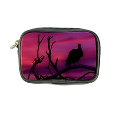 Vultures At Top Of Tree Silhouette Illustration Coin Purse