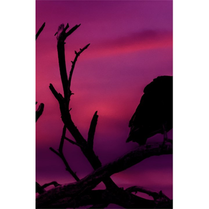 Vultures At Top Of Tree Silhouette Illustration 5.5  x 8.5  Notebooks