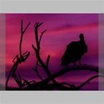 Vultures At Top Of Tree Silhouette Illustration Deluxe Canvas 24  x 20   24  x 20  x 1.5  Stretched Canvas