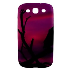 Vultures At Top Of Tree Silhouette Illustration Samsung Galaxy S III Hardshell Case