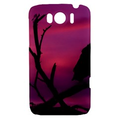 Vultures At Top Of Tree Silhouette Illustration HTC Sensation XL Hardshell Case