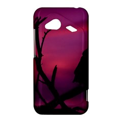 Vultures At Top Of Tree Silhouette Illustration HTC Droid Incredible 4G LTE Hardshell Case
