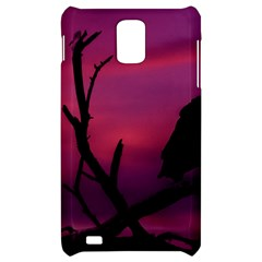 Vultures At Top Of Tree Silhouette Illustration Samsung Infuse 4G Hardshell Case