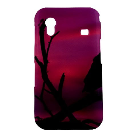 Vultures At Top Of Tree Silhouette Illustration Samsung Galaxy Ace S5830 Hardshell Case