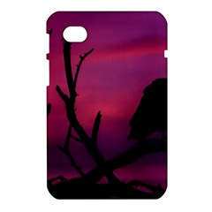 Vultures At Top Of Tree Silhouette Illustration Samsung Galaxy Tab 7  P1000 Hardshell Case