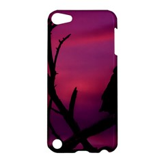 Vultures At Top Of Tree Silhouette Illustration Apple iPod Touch 5 Hardshell Case