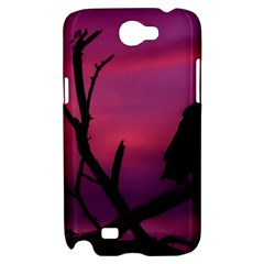 Vultures At Top Of Tree Silhouette Illustration Samsung Galaxy Note 2 Hardshell Case